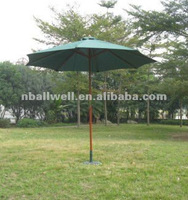 AWOU5001-2012 NEW DESIGN MODERN WOOD FRAME OUTDOOR PUSH UP UMBRELLA,UV-RESISTANT,WATERPROOF,UV-RESISTANT,MANUFACTURER