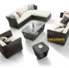 outdoor garden Rehau Rattan fashion sofa sets