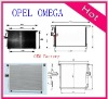 (OE:1850028)radiator China OEM aircondition radiator for OPEL OMEGA
