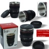 Well sold as promotion gift and advertisement products simulation camera lens cup with stainless steel