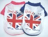 UK style pet T-shirt pet clothes