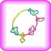 multicolor wrist bands silicone rubber
