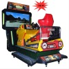 New 3D fully dynamic arcade racing simulator game amchine
