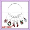 HOT! WM-10226 Christmas Wine Charm; Great For Parties/dinners - A Perfect Way To Identify Your Glass!