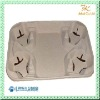 4 cavity coffee tray