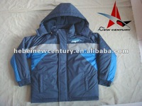 Fashion kids jacket with padding