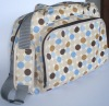 polyester with printing Diaper Bag