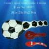 Ceramic spoon stand football design