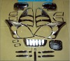Complete Chrome Accessory Kits 2003-2008 Toyota Prado FJ120(24PCS)