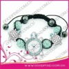 Custom Fashion Cute Tortoise jewelry shamballa watch
