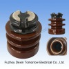 Electrical high voltage porcelain pin Insulator N95-4