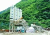 Wet concrete mixing plant made in China