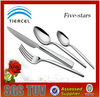 Traditional stainless steel flatware
