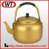Yellow Aluminum Tea Kettle