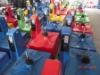 kiddie rides in workshop