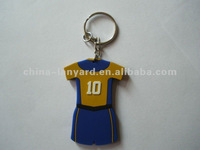 Football Jersey Keychain