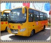 Top quality Dongfeng chassis hybrid city bus