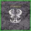 Machinemade votive clear glass candleholder for decoration