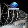 RAZOR barbe wire mesh in spiral with all kinds
