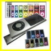"New 4GB for ipod 2.2"" LCD Shakable MP3 MP4 5th Player Touch +Video + Camera MP3 MP4 with Radio Silver"