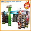 2012 European Cup Beer Promotion Display Stand