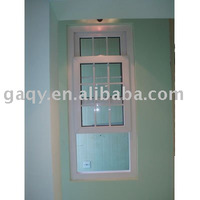 Single Hung Window with grille
