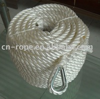tow rope for marine usage
