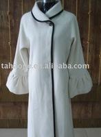 ladies light color coat
