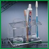 Clear acrylic toothbrush display