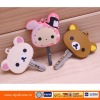 Cute silicone key holder