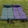 Inflatable mattress in blue and green color(accept retail order)