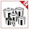 Stainless Steel 201 Seasoning Pot with Cover