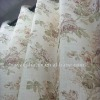 100% Pure Linen Printed Curtain Fabric