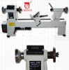 "European quality variable speed bench lathe 10x18"" Wood Lathe 370w With Speed Digital Screen"
