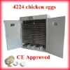 Full Automatic incubators for hatching eggs Holding 4224 eggs