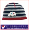 Children's Striped Beanie Hat