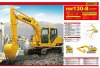 Sinotruk HIDOW 13ton Crawler Excavator