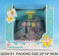 The baby toys with rotating bee bead QD54151