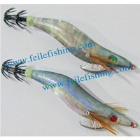 Japan UV paint squid jig hook