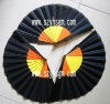 Promotional colorful plastic hand fans as the gift fans