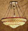 bright and transparent glass Tiffany pendant light