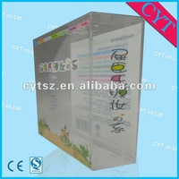nice clear plastic box for packaging facial mask