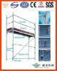 Layher Aluminium Facade Scaffolding System For Easy Set Up