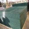 high quality pvc coated wire fence panels / welded wire mesh