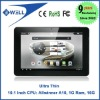 Ultra Thin Allwinner A10 1G Ram 10.1 Inch Android 4.0 IPS 10 points capacitive Screen 16GB Bluetooth HDMI Black Aluminum Shell