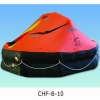 Throw-over type inflatable life raft type B