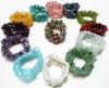 FREE SHIPPING !!! MULTI CR Gemstone Chip Bead Stretch BirthStone Bracelet