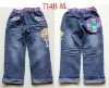 2013 New Design Cotton Baby girl children jeans