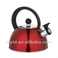 2.5/3.0L Colorful Stainless Steel Whistling Water Kettle