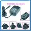 charger for HOLUX GPS with three plugs